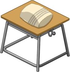 うたた寝用の机