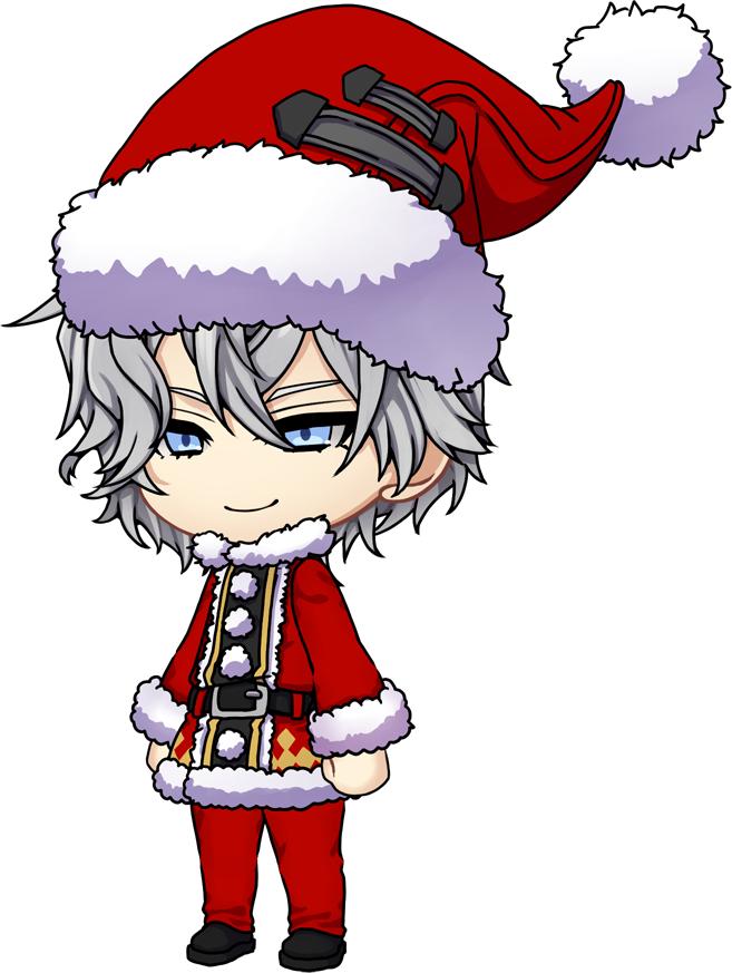 サンタクロース衣装 【サンタ帽、サンタひげ、サンタ服、サンタズボン】
