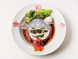 カラ松とタキシードサムの俺たち肉食系!ローストビーフ丼 1,690円+税