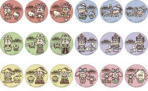 缶バッチ(3個入り) 各800円+税