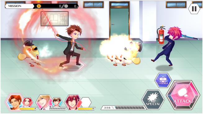 アクションゲーム画像