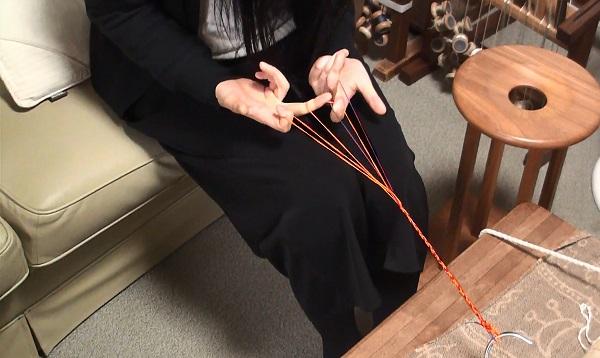 「組紐」体験 ブレスレット作り