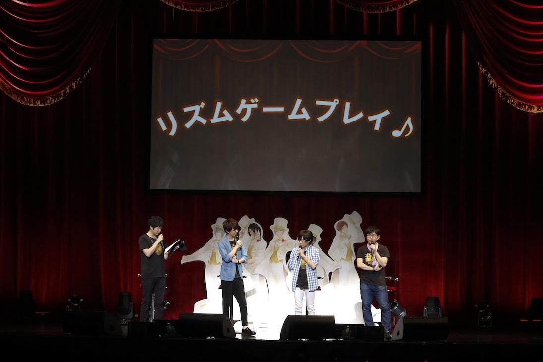 夢キャスファンミイベント写真【リズムゲーム対決1】