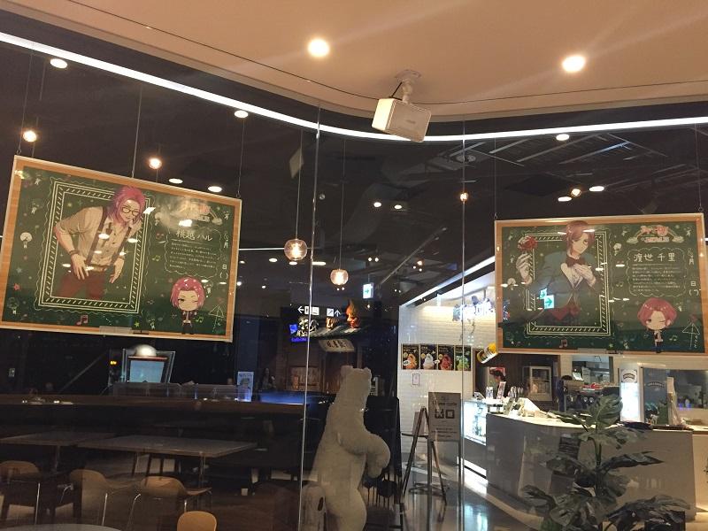 カフェ展示