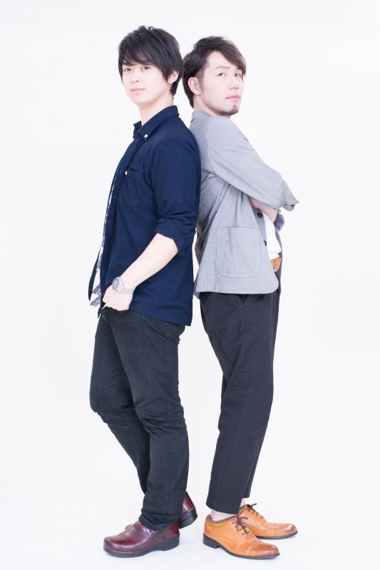 ▲土岐隼一さん(写真左) 広瀬淳さん(写真右)
