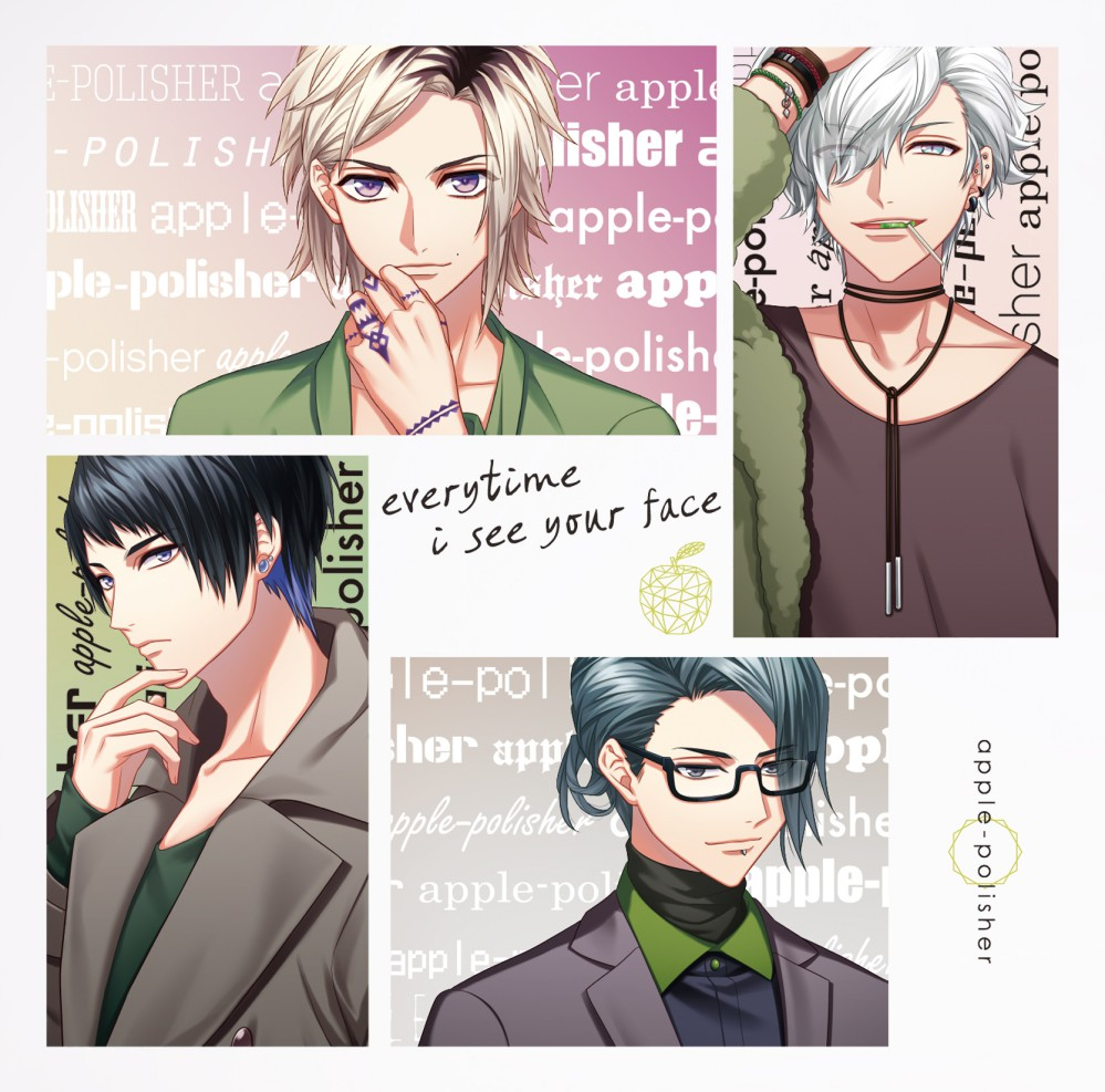 ダイナーapple-polisherミニアルバム『everytime i see your face』