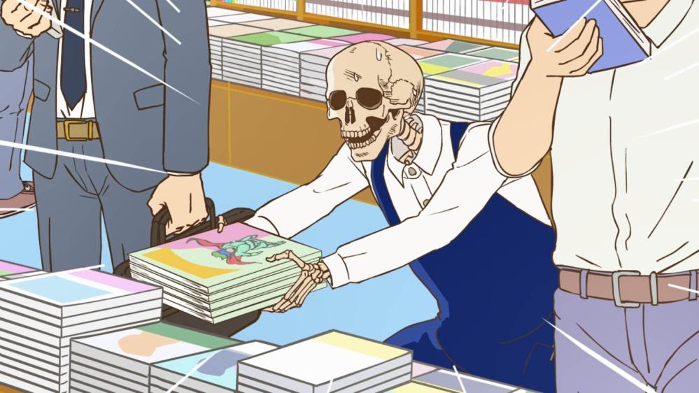 TVアニメ「ガイコツ書店員本田さん」最新PV公開